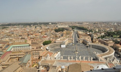 Zdjecie WATYKAN / Lazio / Watykan / Watykan, plac św. Piotra