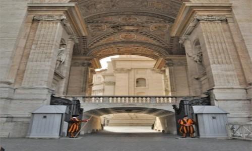 Zdjecie WATYKAN / Lazio / Watykan / Watykan, wejście