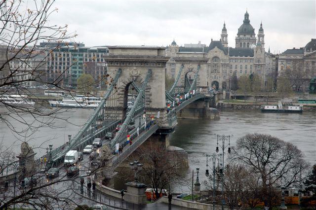 Zdjęcia: budapeszt, Most Łańcuchowy- pierwszy most pomiędzy Budą i Pesztem, WĘGRY