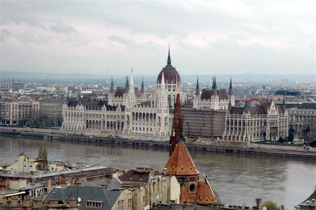 Zdjęcia: budapeszt, panorama miasta- Parlament, WĘGRY