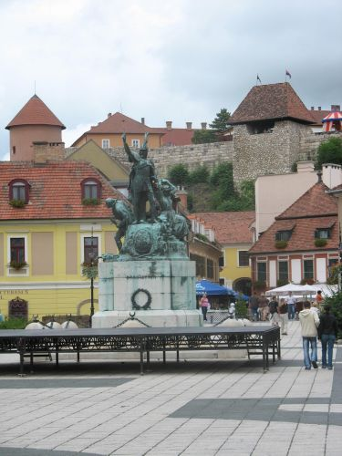 Zdjęcia: Eger, Rynek w Egerze, WĘGRY
