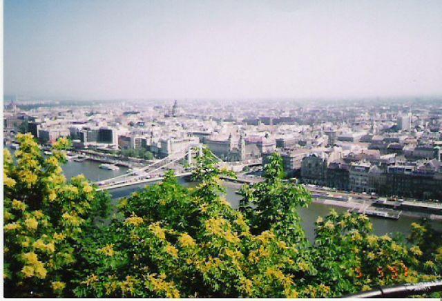 Zdjęcia: Wzgórze Gellerta, Budapeszt, Widoczek, WĘGRY