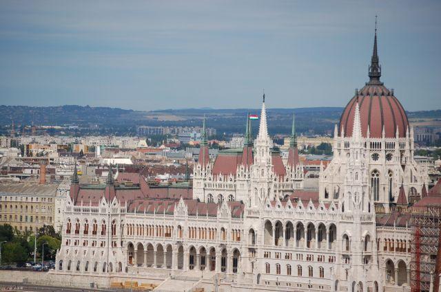 Zdjęcia: Budapeszt, Widok na Parlament 2, WĘGRY