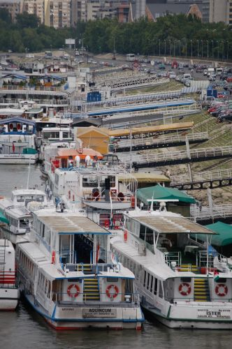 Zdj�cia: Budapeszt, Barki na Dunaju, W�GRY