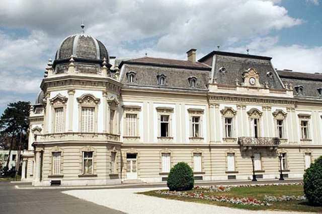 Zdjęcia:  Keszthely, Balaton, Pałac, WĘGRY