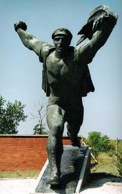 Zdjęcia: Budapeszt, Muzeum Niechcianych Pomników, WĘGRY