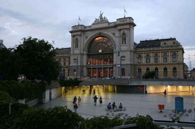 Zdjęcia: Budapeszt, Dworzec Budapeszt Keleti, WĘGRY