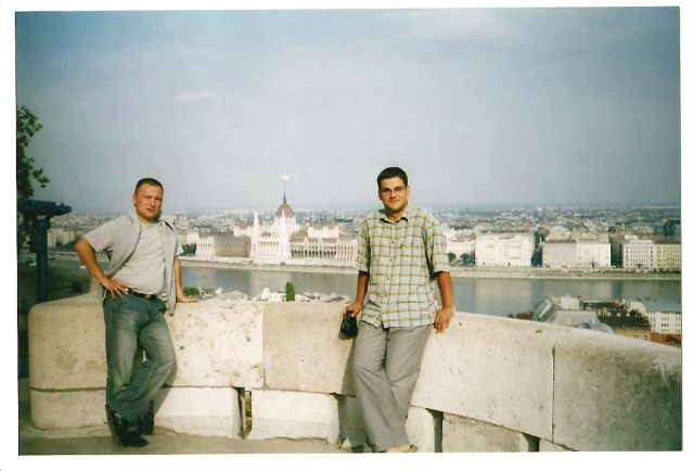Zdjęcia: Budapeszt, Węgry, Panorama Budopesztu z Parlamentem Wegierskim, WĘGRY