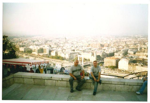 Zdjęcia: Budapeszt, Węgry, Budapeszt ze Wzgórz Gellerta, WĘGRY