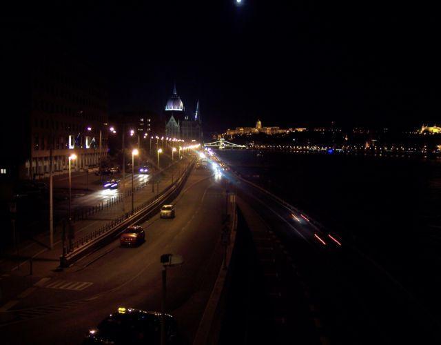 Zdjęcia: Budapeszt, Widok z mostu Małgorzaty, WĘGRY