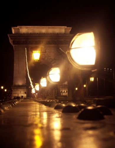 Zdjęcia: Budapeszt, Most Łańcuchowy, WĘGRY