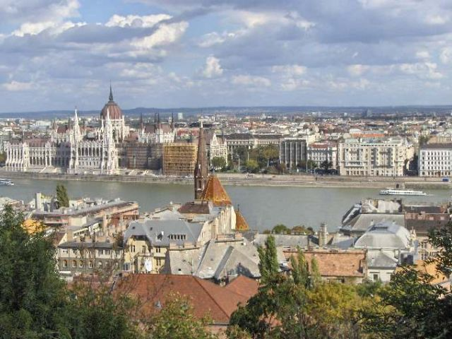 Zdjęcia: Budapeszt, Budapeszt, Wdiok na Peszt, WĘGRY