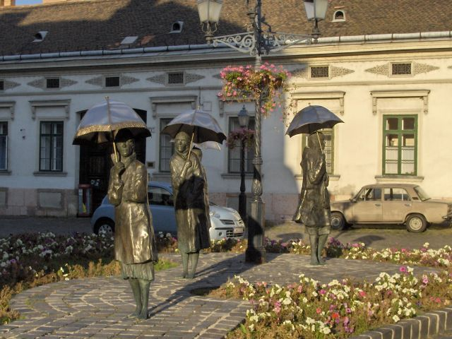 Zdjęcia: Budapeszt, Peszt, Parasolki 2, WĘGRY