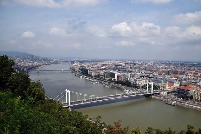 Zdjęcia: Budapeszt, Budapeszt, Budapeszt z wzgórza Gellerta, WĘGRY
