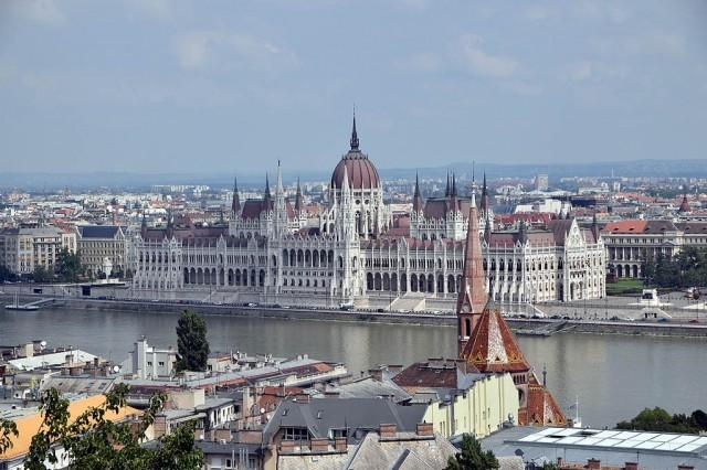 Zdjęcia: Budapeszt, Budapeszt, Parlament w Budapeszcie, WĘGRY