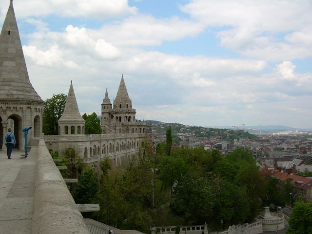 Zdjęcia: Baszta Rybacka, Budapeszt, Prawie jak Mur Chiński;), WĘGRY