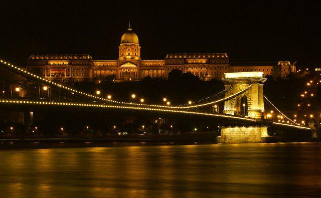 Zdj�cia: Budapeszt, Budapeszt noc� 1, W�GRY