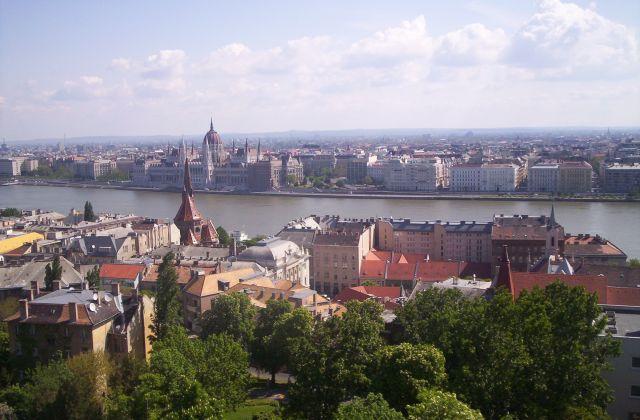 Zdjęcia: Budapeszt, Widok z Wzgórza Zamkowego, WĘGRY