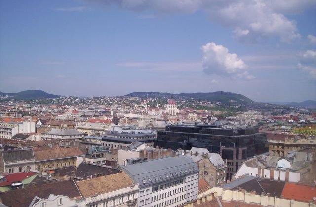 Zdjęcia: Budapeszt, Widok z wieży katedry Św. Stefana, WĘGRY