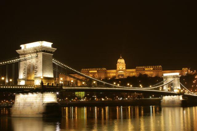 Zdjęcia: Budapeszt, I jeszcze jedno z Budapesztu nocą, WĘGRY