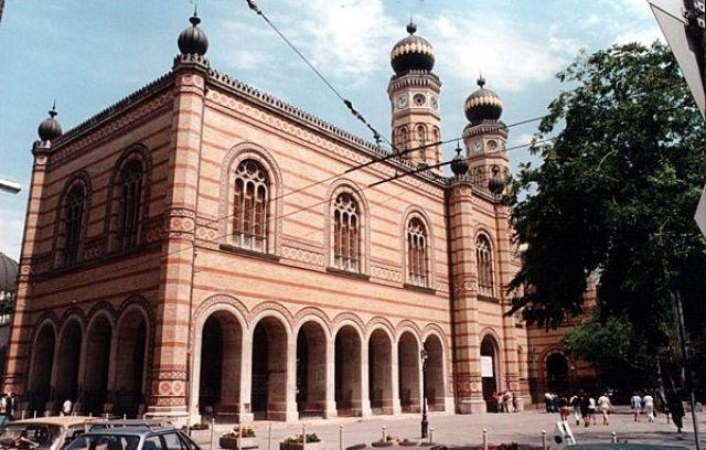 Zdjęcia: BUDAPESZT, Główna Synagoga, WĘGRY