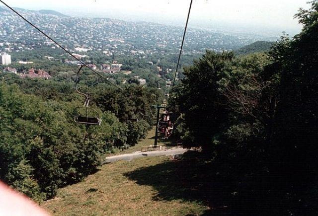 Zdjęcia: BUDAPESZT, Wyciąg krzesełkowy na Wzgórza Budańskie, WĘGRY