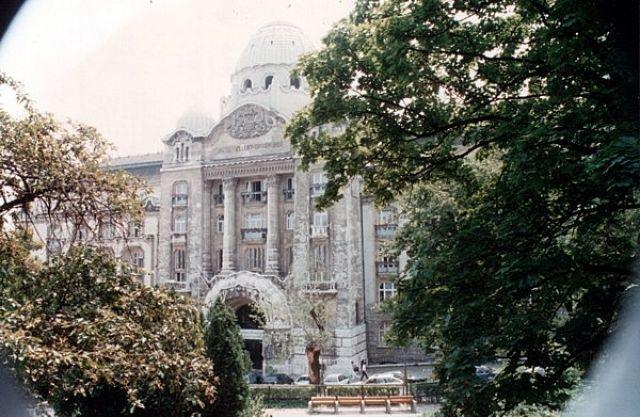Zdjęcia: BUDAPESZT, Secesyjny Hotel Gellert., WĘGRY