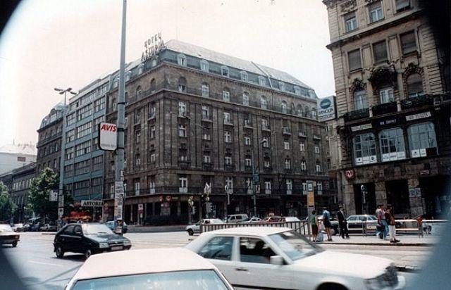 Zdjęcia: BUDAPESZT, Hotel Astoria., WĘGRY