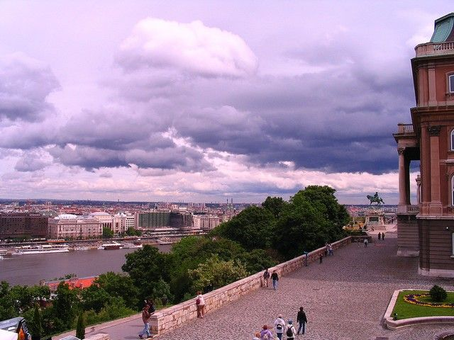 Zdjęcia: Budapeszt, Panorama miasta z zamku, WĘGRY