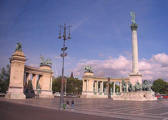 Zdjęcia: Budapeszt, Pomnik Obrońców Ojczyzny, WĘGRY