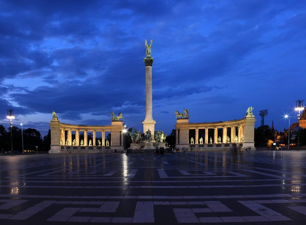 Zdjęcia: Plac Bohaterów, Budapeszt, Pomnik Tysiąclecia, WĘGRY