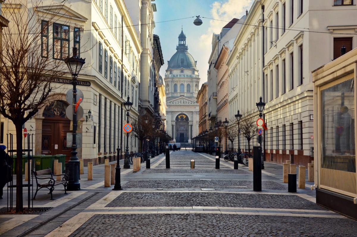 Zdjęcia: Budapeszt, Poranny spacer uliczkami Budapesztu, WĘGRY