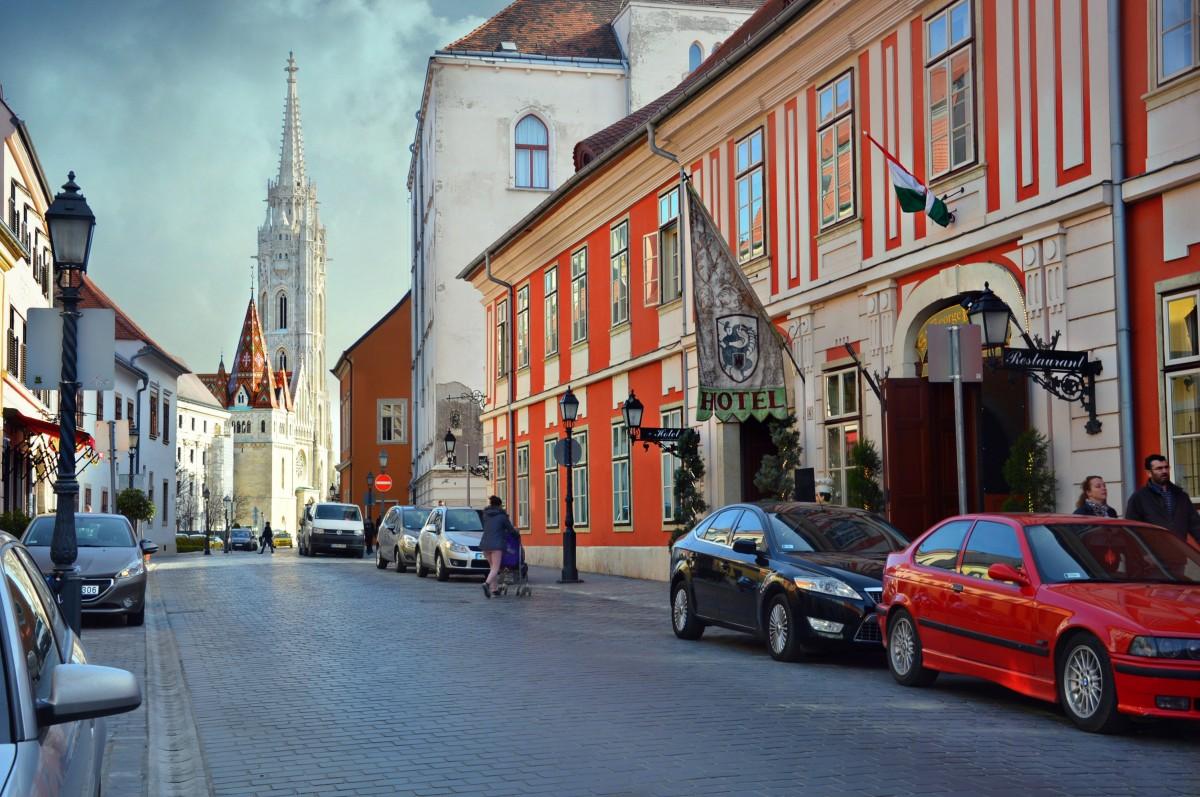Zdjęcia: Budapeszt, Spacer po starym mieście..., WĘGRY