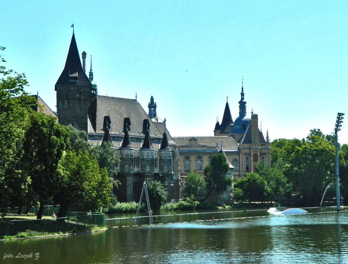 Zdjęcia: Budapeszt., Budapeszt., Budapeszt - Zamek Vajdahunyad 1, WĘGRY