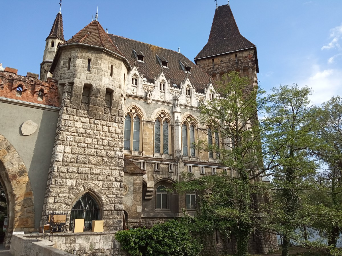 Zdjęcia: Park Miejski, Budapeszt, Zamek Vajdahunyad, WĘGRY