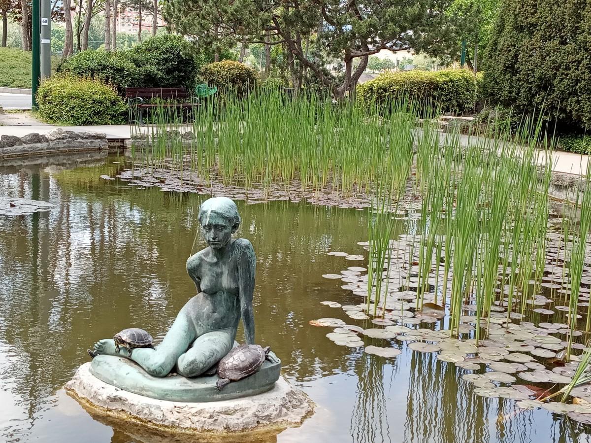 Zdjęcia: Wyspa Małgorzaty, Budapeszt, Przyjemność żółwi w ogrodzie japońskim, WĘGRY