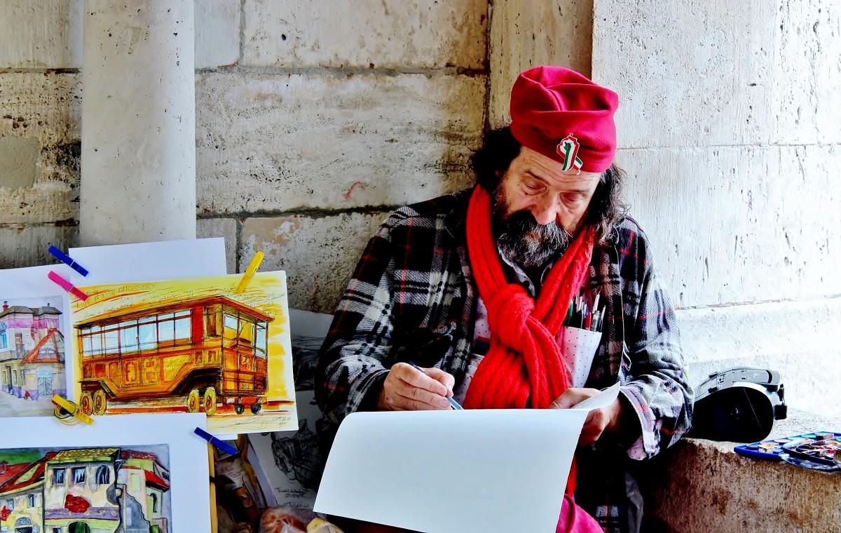 Zdjęcia: Budapeszt, komitat Budapeszt, Maluję sobie..., WĘGRY
