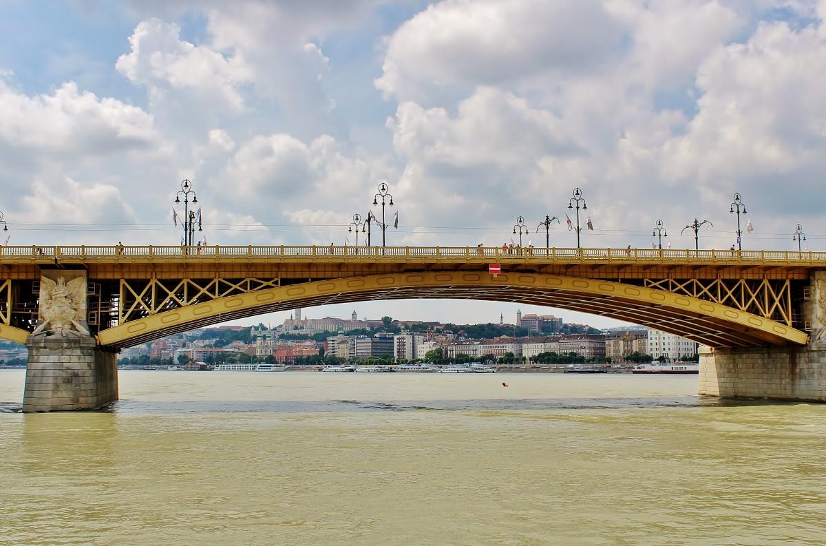 Zdjęcia: Budapeszt, komitat Budapeszt, Most Małgorzaty z 1876 roku, WĘGRY