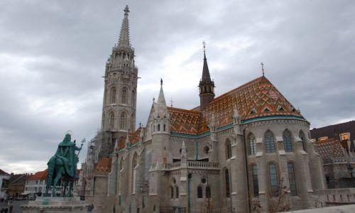 WĘGRY / - / Budapeszt / Kościół Macieja