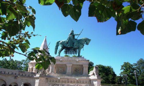 Zdjecie WĘGRY / Budapeszt / Wzgórze zamkowe / z serii: Pomniki historycznych miejsc