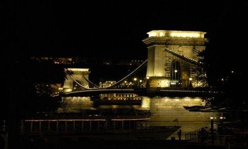 Zdjecie WĘGRY / - / Budapeszt / Miasto nocą Kon