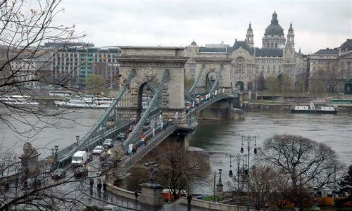 Zdjecie WĘGRY / brak / budapeszt / Most Łańcuchowy- pierwszy most pomiędzy Budą i Pesztem