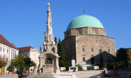 Zdjecie WĘGRY / Południowe Węgry / Pecs / Kościół parafialny paszy Gazim Kasima