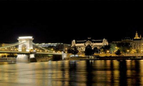 WĘGRY / - / Budapeszt / Budapest at night