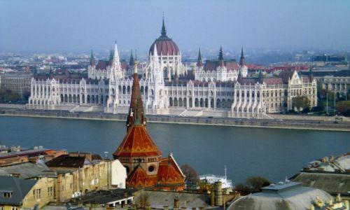 Zdjecie WĘGRY / Budapeszt / Budapeszt / Nad Dunajem