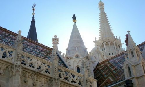 Zdjęcie WĘGRY / Budapest / Budapeszt / Katedra św. Mateusza