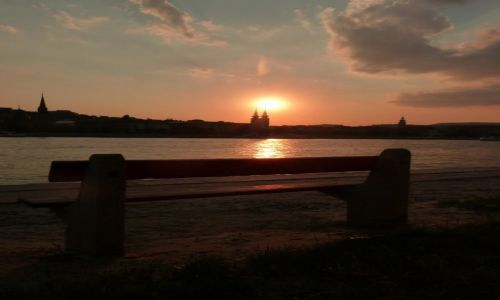 Zdjecie WĘGRY / Budapeszt / Budapeszt / Zachód słońca nad Dunajem