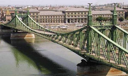 Zdjecie WĘGRY / brak / Budapeszt / Most nad Dunaje