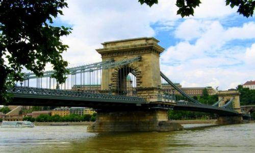 WĘGRY / Budapeszt / Most łancuchowy / Most dwojga serc: Budy i Pesztu