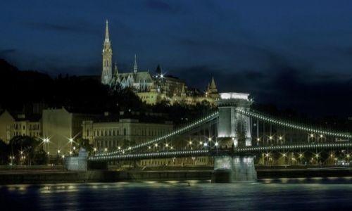 Zdjęcie WĘGRY / Budapeszt / Budapeszt / Budapeszt nocą